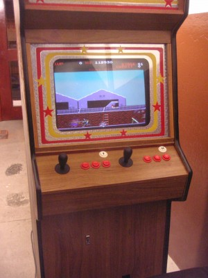 Arcade cabinet by Chris Meighan