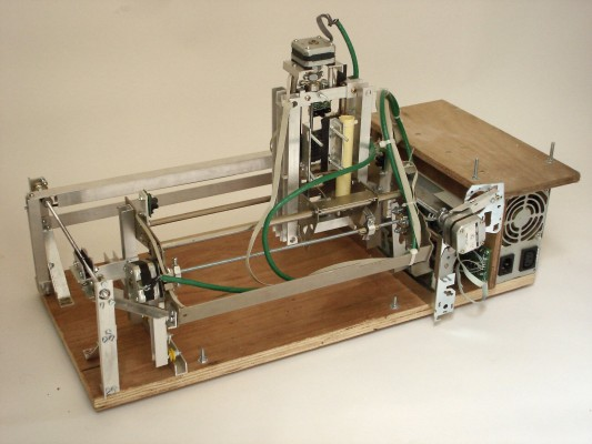 Three-axis CNC robot by Chris Meighan