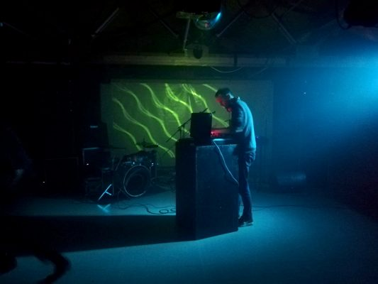 Video synthesizer by Chris Meighan